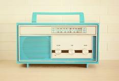Αναδρομικό ραδιόφωνο στοκ εικόνα