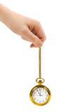 αναδρομικό ρολόι χεριών Στοκ Εικόνες