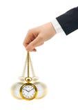 αναδρομικό ρολόι χεριών Στοκ φωτογραφίες με δικαίωμα ελεύθερης χρήσης