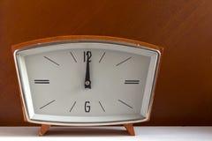 Αναδρομικό ρολόι Στοκ Εικόνες