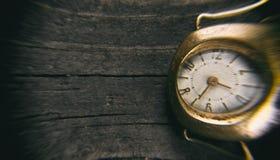 αναδρομικό ρολόι Στοκ Εικόνα