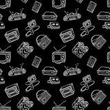 Αναδρομικό σχέδιο συσκευών Στοκ Φωτογραφία