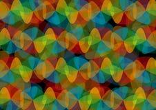 Αναδρομικό σχέδιο των γεωμετρικών μορφών. Στοκ φωτογραφίες με δικαίωμα ελεύθερης χρήσης