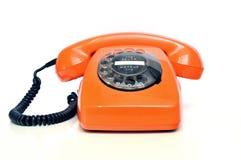 αναδρομικό τηλέφωνο Στοκ Εικόνες