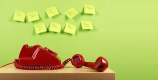 αναδρομικό τηλέφωνο Στοκ φωτογραφίες με δικαίωμα ελεύθερης χρήσης