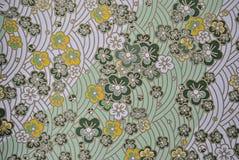 Αναδρομικό υπόβαθρο λουλουδιών Στοκ Εικόνα