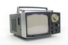 Αναδρομικό φορητό televison Στοκ Εικόνα