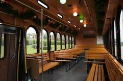 Αναδρομικό ύφος τουριστηκών λεωφορείων Στοκ Φωτογραφίες