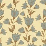 Floral άνευ ραφής σχέδιο Στοκ Εικόνα