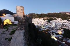 Ανδαλουσιακό χωριό Casares, Ισπανία Στοκ Φωτογραφίες