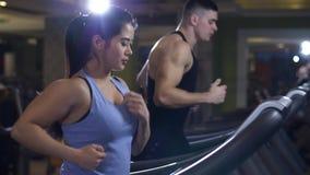Ανδρών και γυναικών treadmill φιλμ μικρού μήκους