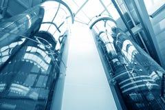 Ανελκυστήρας γυαλιού στοκ εικόνα