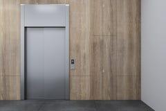 Ανελκυστήρας και copyspace διανυσματική απεικόνιση