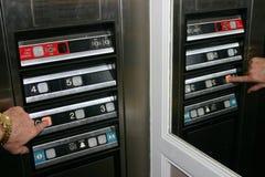 ανελκυστήρας κουμπιών π&om στοκ φωτογραφίες με δικαίωμα ελεύθερης χρήσης