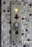 ανελκυστήρας κουμπιών Στοκ Φωτογραφίες