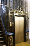 ανελκυστήρας παλαιό UK Στοκ Εικόνες