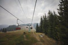 Ανελκυστήρας Carpathians στοκ φωτογραφία