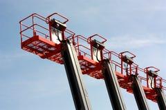 ανελκυστήρες βραχιόνων Στοκ φωτογραφία με δικαίωμα ελεύθερης χρήσης