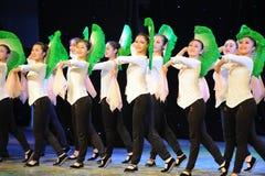 Ανεμιστήρας βασικός η ικανότητα-εθνική κατάρτιση χορού Στοκ εικόνες με δικαίωμα ελεύθερης χρήσης