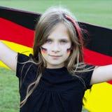 ανεμιστήρας γερμανικά Στοκ εικόνα με δικαίωμα ελεύθερης χρήσης
