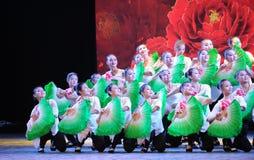 Ανεμιστήρας η ομάδα-εθνική κατάρτιση χορού Στοκ Φωτογραφίες