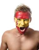 Ανεμιστήρας ποδοσφαίρου Στοκ εικόνες με δικαίωμα ελεύθερης χρήσης