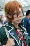 Ανεμιστήρας στο κοστούμι σε ένα Λα Anime EXPO 2013 Στοκ φωτογραφία με δικαίωμα ελεύθερης χρήσης