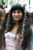Ανεμιστήρας στο κοστούμι σε ένα Λα Anime EXPO 2013 Στοκ Φωτογραφίες