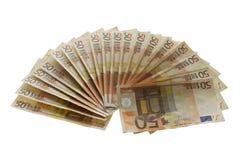 Ανεμιστήρας χρημάτων Στοκ φωτογραφίες με δικαίωμα ελεύθερης χρήσης