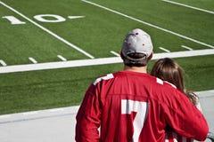 Ανεμιστήρες αμερικανικού ποδοσφαίρου στοκ φωτογραφίες