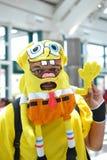 Ανεμιστήρες στο κοστούμι σε ένα Λα Anime EXPO 2012 Στοκ φωτογραφία με δικαίωμα ελεύθερης χρήσης