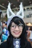 Ανεμιστήρες στο κοστούμι σε ένα Λα Anime EXPO 2012 Στοκ Εικόνες