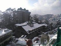 Ανεμιστήρες χιονιού Στοκ Φωτογραφίες