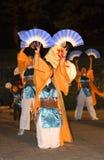 ανεμιστήρες χορού στοκ φωτογραφίες