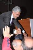 ανεμιστήρες Massimo δ alema Στοκ εικόνες με δικαίωμα ελεύθερης χρήσης