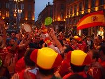 Ανεμιστήρων της Ισπανίας Στοκ εικόνα με δικαίωμα ελεύθερης χρήσης