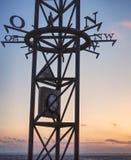 Ανεμολόγιο στη Βόρεια Θάλασσα στοκ φωτογραφία με δικαίωμα ελεύθερης χρήσης