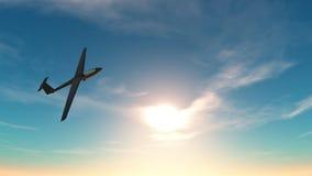 ανεμοπλάνο Διανυσματική απεικόνιση