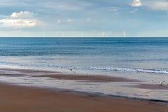 Ανεμοστρόβιλοι στη Βόρεια Θάλασσα στοκ εικόνα