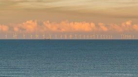 Ανεμοστρόβιλοι στη Βόρεια Θάλασσα στοκ εικόνα με δικαίωμα ελεύθερης χρήσης