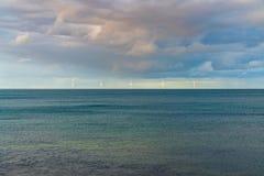 Ανεμοστρόβιλοι στη Βόρεια Θάλασσα στοκ φωτογραφία με δικαίωμα ελεύθερης χρήσης