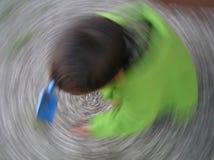 ανεμοστρόβιλος παιδιών Στοκ εικόνες με δικαίωμα ελεύθερης χρήσης