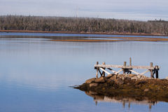 Ανεμοστρόβιλος κοντά σε μια λίμνη, νομός του Χάλιφαξ Στοκ Εικόνα