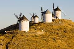 Ανεμόμυλοι, Ισπανία στοκ φωτογραφία με δικαίωμα ελεύθερης χρήσης