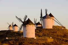 ανεμόμυλοι, Consuegra, Καστίλλη-Λα Mancha, Ισπανία στοκ εικόνες