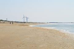 Ανεμόμυλοι θάλασσας και ενέργειας, Ολλανδία Στοκ εικόνα με δικαίωμα ελεύθερης χρήσης