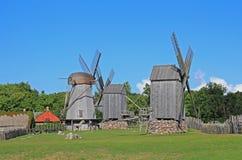 Ανεμόμυλοι Στοκ Φωτογραφίες