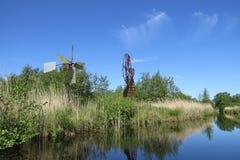 ανεμόμυλοι Στοκ φωτογραφία με δικαίωμα ελεύθερης χρήσης