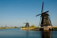 Ανεμόμυλοι - Kinderdijk - Κάτω Χώρες Στοκ φωτογραφίες με δικαίωμα ελεύθερης χρήσης