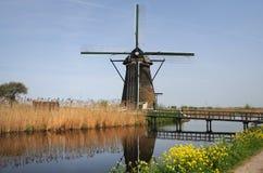 Ανεμόμυλοι Kinderdijk Στοκ Εικόνα